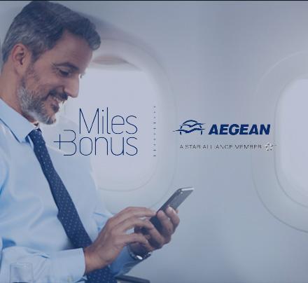 Aegean Airlines Miles+Bonus